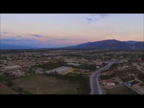 DJI Drone over Port au Prince - Haiti - At sunset ....