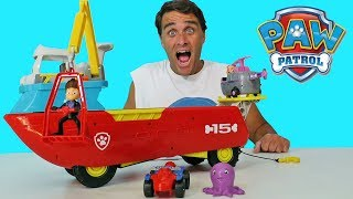 Paw Patrol Sea Patrol Sea Patroller  ! Toy Review || Konas2002