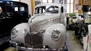 Финляндия, Музей старых автомобилей