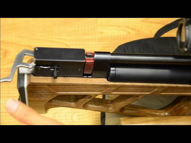 Kalibr gun Cricket Air Gun PCP single shot loader / tray  177,  22