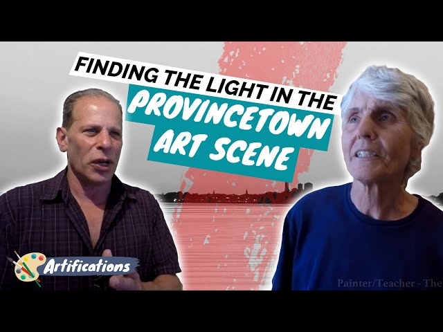 Finding the Light in the Provincetown Art Scene