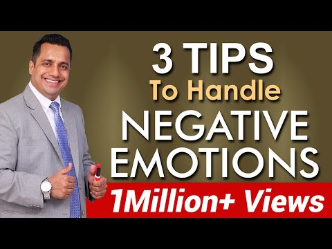 3 Tips How To Handle Negative Emotions, Emotional Intelligence in Hindi by Vivek Bindra