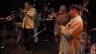 1989   Dizzy Gillespie, Phil Woods, Bobby Hutcherson, Steve Turre, Cedar Walton, Rufus Reid, Mickey