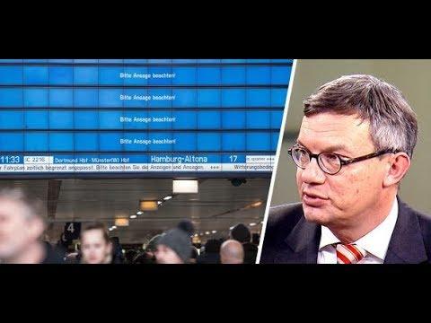 """Bahnverkehr eingestellt: """"In Nordrhein-Westfalen hat's uns schwer erwischt"""""""