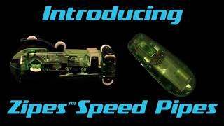 Огляд Трубопровідні гонки Chariots Zipes Speed Pipes Автотрек в трубі