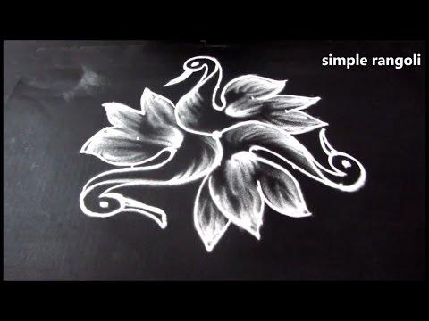 simple and creative rangoli designs ||  birds kolam designs with easy dots || design muggulu