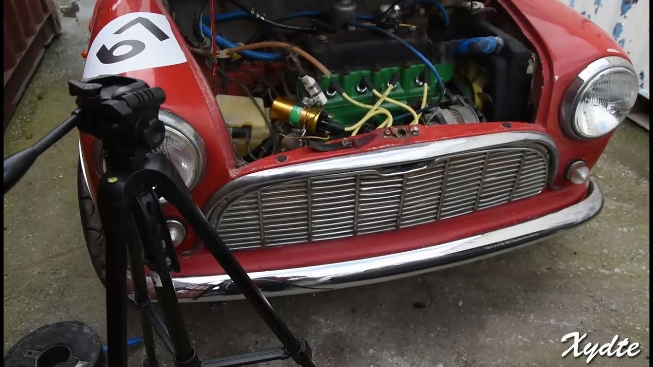 classic mini diy how to install clutch master cylinder [ 1280 x 720 Pixel ]