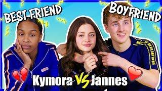 RUZIE JANNES EN KYMORA OM STEFANIA | BF VS BF CHALLENGE