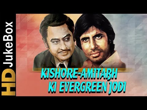 KishoreAmitabh Ki Evergreen Jodi  Best of Kishore Kumar & Amitabh Bachchan Songs Jukebox