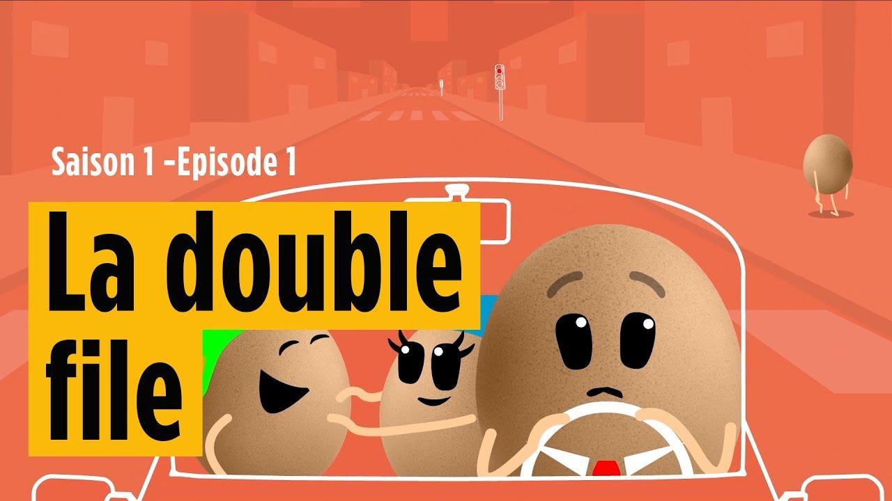Z'oeufs code Saison 1 - épisode 1 / La double file