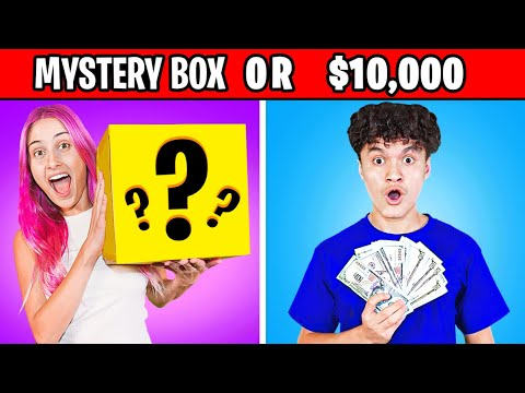 Would You Rather Have $10,000 OR This Mystery Box?