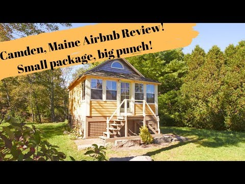 Airbnb Review! Camden, Maine