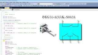 Программирование микроконтроллеров avr для начинающих ( Урок12 энкодер )