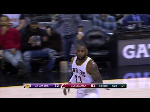 Los Angeles Lakers at Cleveland Cavaliers - December 17, 2016