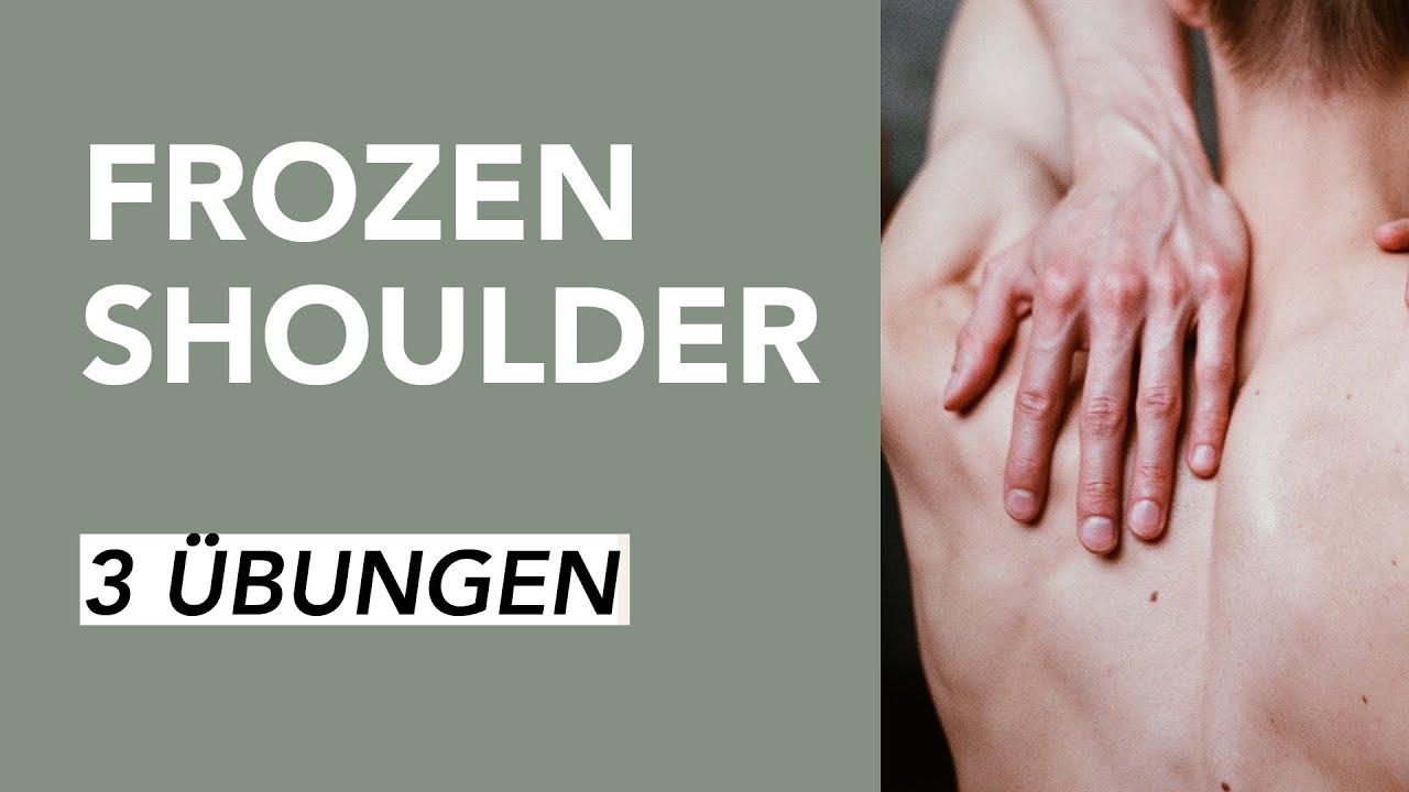 Sofort-Hilfe gegen Schulterschmerzen bei Frozen Shoulder..