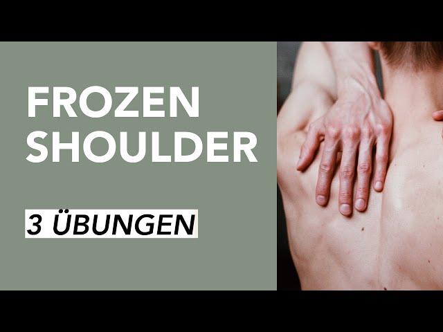 Sofort-Hilfe gegen Schulterschmerzen bei Frozen Shoulder | Liebscher & Bracht
