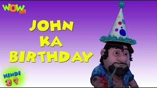 John's Birthday - Motu Patlu in Hindi WITH ENGLISH, SPANISH & FRENCH SUBTITLES