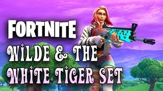 The new WILDE starter pack & WHITE TIGER set in Fortnite!