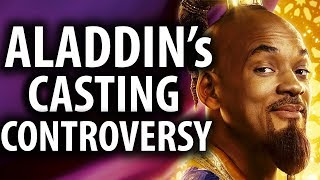 Aladdin Remake's Casting Controversy Explained
