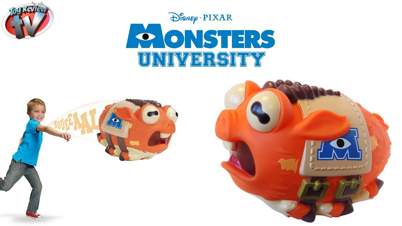 Wallpaper Monster Inc 3d Monsters University Archie Squealing Mascot Toy Review