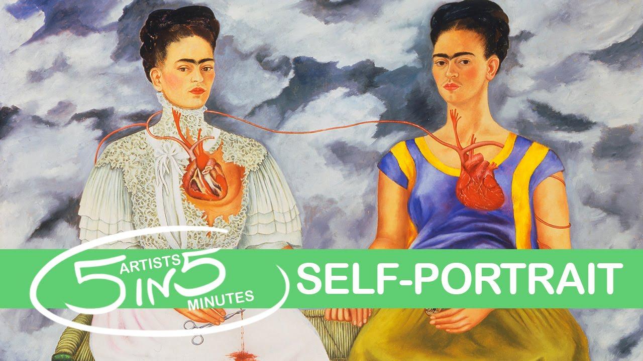 Self Portrait 5 Artists In 5 Minutes W Amor Sciendi