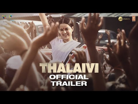 Thalaivi   Official Trailer (Hindi)   Kangana Ranaut   Arvind Swamy   Vijay   23rd April