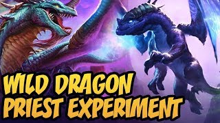 Wild Dragon Priest Experiment | Rise Of Shadows | Hearthstone