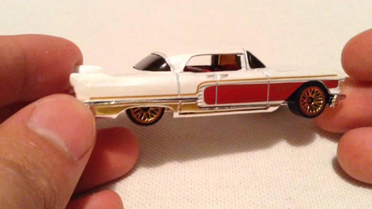 Hot Wheels 1957 Cadillac Eldorado Brougham (2016 Walmart Exclusive HW Garage Series)