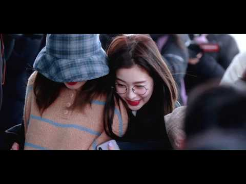 190116 seulrene moment @ Incheon Airport to Chile