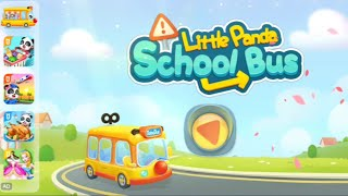 Baby Panda School Bus, Cartoon For kids By Kids Studio