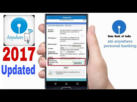 sbi mobile banking registration 2017 update  | how to use in hindi | part  2