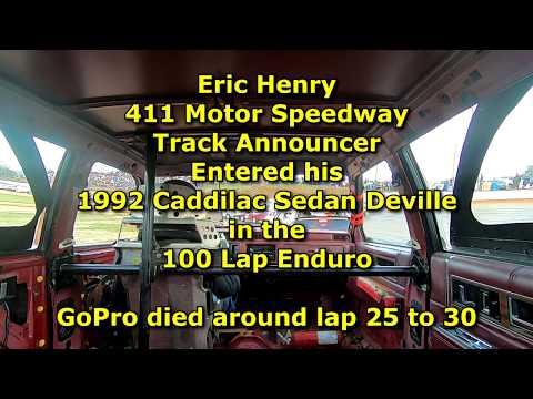 Eric Henry ENDURO In car Camera @ 411 Motor Speedway Dec  28, 2019