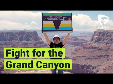 Navajo People are Fighting Against Construction of the Grand Canyon Escalade | Resistance