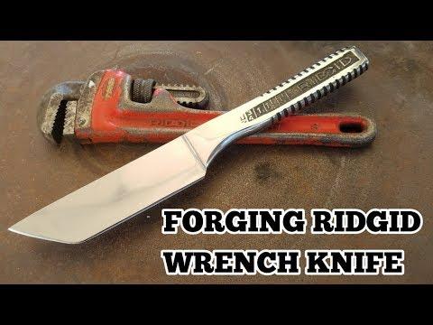 Making A RIDGID Wrench Knife