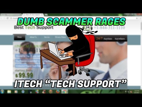 Tech Support Scam / Raging scammer exposed! - 1-855-381-5333 - itech-squad.us