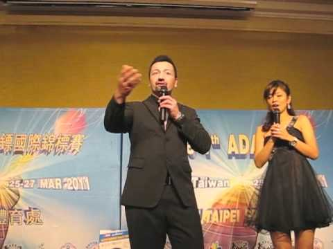 ADA Darts Tournament Taipei Taiwan Charity Auction for Japan Darts Players