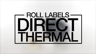 Direct Thermal Roll Labels