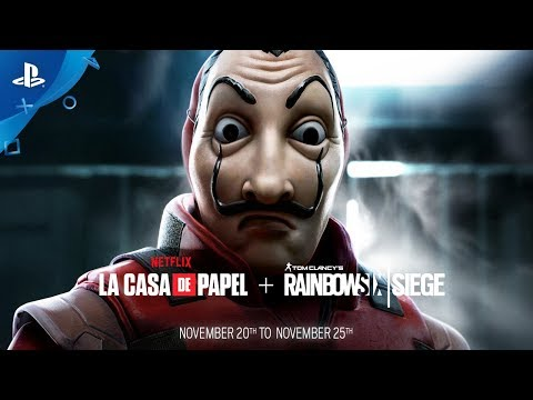 Tom Clancy's Rainbow Six Siege | Money Heist Event Trailer | PS4
