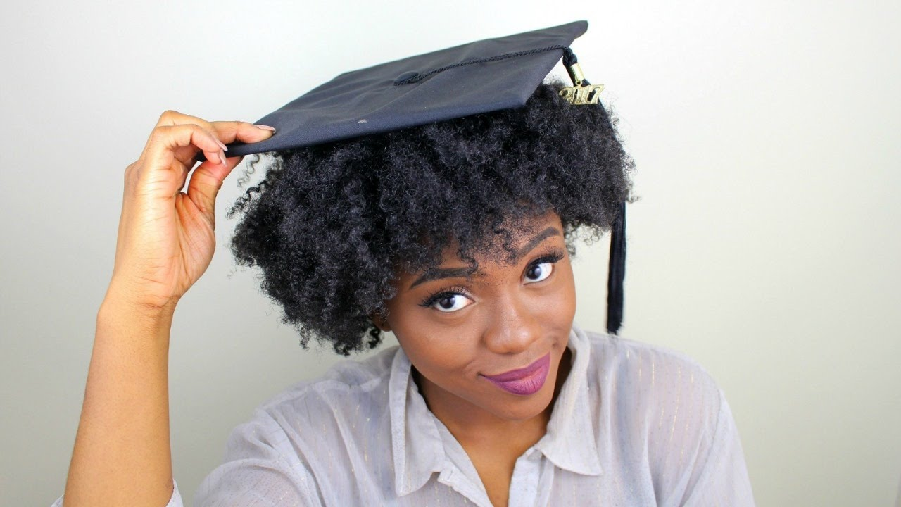Image result for graduation cap hairstyles