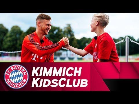 'Sportlich, lustig, dickköpfig' |Joshua Kimmich im FCB KidsClub-Talk