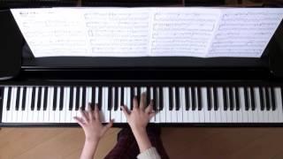 2015年12月30 録画、使用楽譜;ピアノで弾きたいアニメソング210.