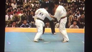 1985年11月3~4日 東京体育館 掌道鍼灸整骨院 http://www.medifeel-q.com.