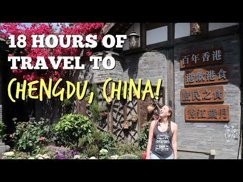 18 Hours To Chengdu, China! | MirandaTheAdventurer