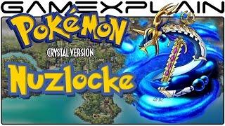 Pokémon Crystal Nuzlocke Livestream - Part 10 (VS Elite Four!)