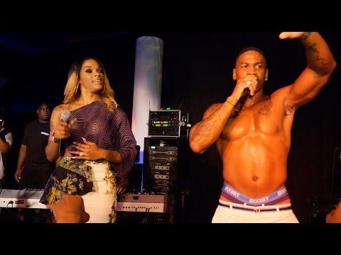 Stevie J & Joseline Hernandez Live performance LHHATL