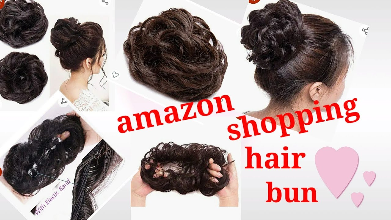 Download Amazon shopping hair bun extensions//onlineshopping hair bun extensions//natural hair bun extensions