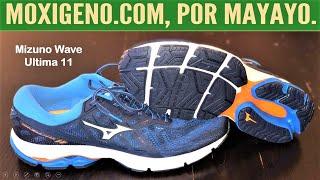 Mizuno Wave Última 11: Zapatillas running neutral con gran comfort. Análisis por Mayayo.