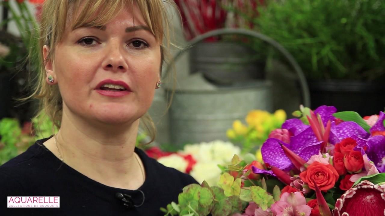 Comment Faire Un Bouquet De Roses art floral tuto et diy - les ateliers d'aquarelle | aquarelle
