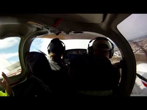 Multi-Engine Rating in 12 Days - Day 3 - Full Video with Cockpit and ATC