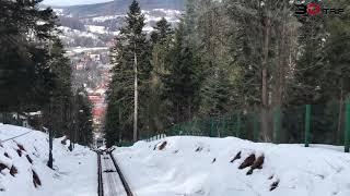 3D-Trip: Kolejka z Góry Parkowej  [Krynica Zdrój, Poland]. 2019-03-02